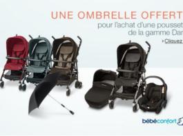 ombrelle bebe confort offerte